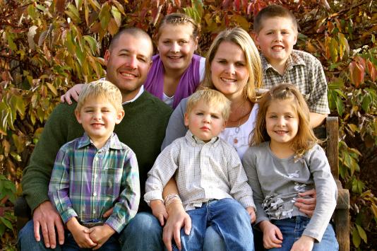 Mormon families
