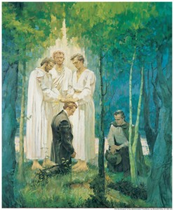 Mormon Priesthood authority of Jesus Christ
