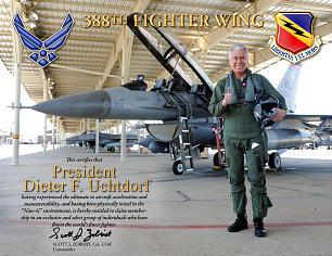 Dieter F. Uchtdorf Mormon pilot
