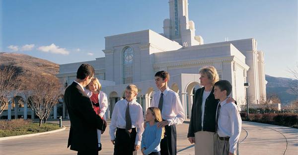 Mormon Temple Utah