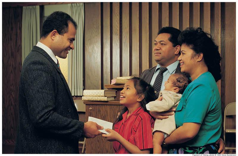 Bishop Tithing Mormon