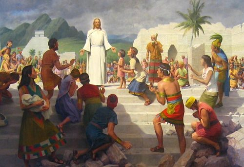 Christ visits the Americas