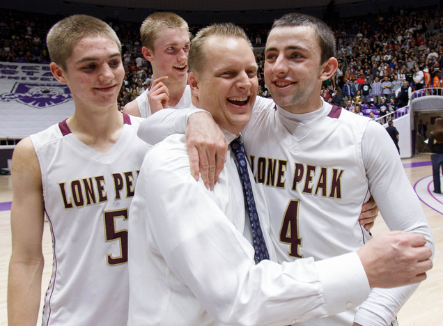 Lone Peak Basketball Mormon