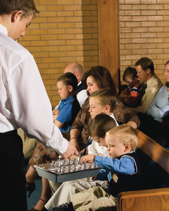 Mormon Church Sacrament Meeting