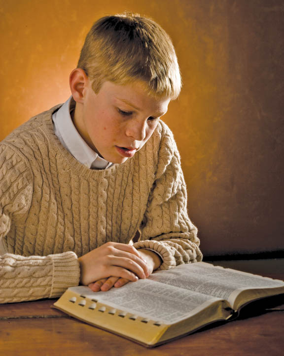 Mormon teenager scripture study