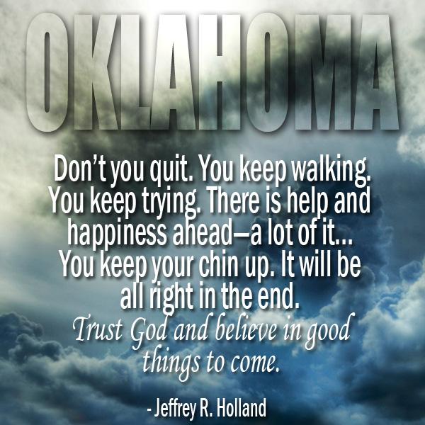 Mormons Respond to Oklahoma Tornadoes