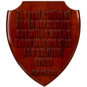 spiritual armor shield battle