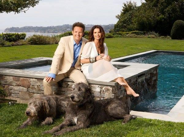 Roma Downey and Mark Burnett Mormon