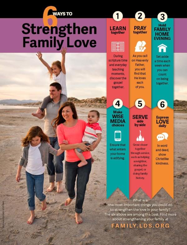 6 Ways to Strengthen Family Life
