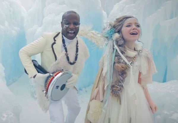 Lexi Walker and Alex Boyé