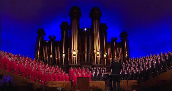 Mormon Tabernacle Choir Disney Celebration