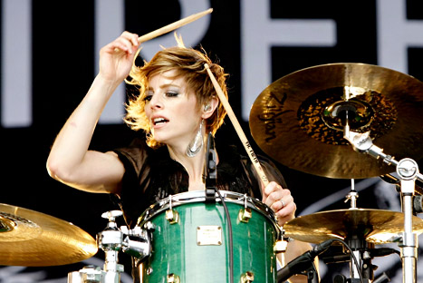 Elaine Bradley - Drummer for Neon Lights