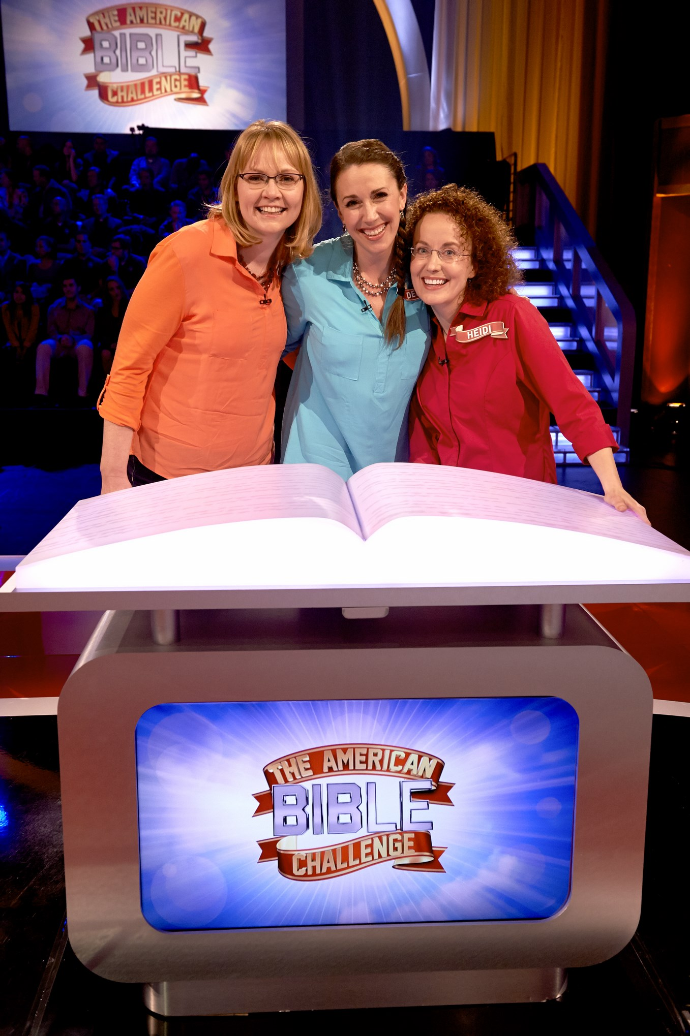 "3 Mormon moms compete on the game show ""The American Bible Challenge"""