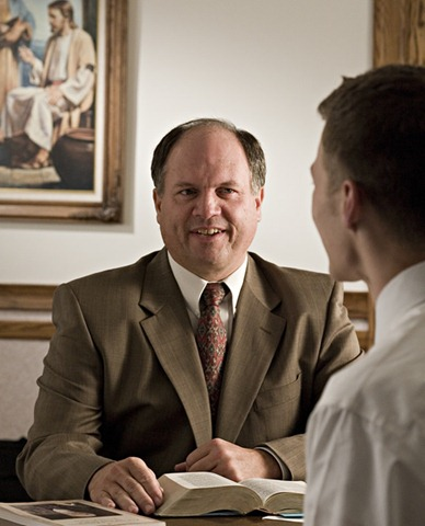 Meeting with a Mormon Bishop
