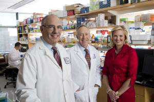 Ann Romney with Dr. Howard L. Weiner