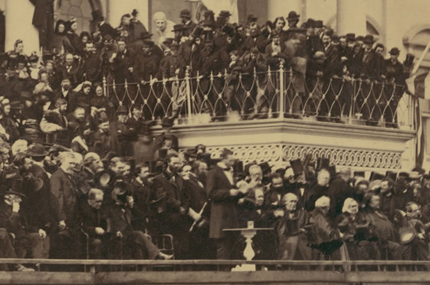 abraham lincolns second inaugural address an View an autographed quotation from president abraham lincoln's second inaugural address see the transcript from 1865 online at the shapell manuscript foundation.