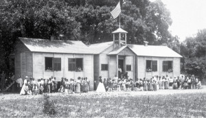 Freedmen Bureau school