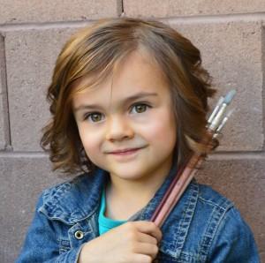 3-year-old Evalynn Sorensen Facebook profile picture