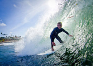 Jordy Collins Surfing